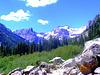Looking Up Cascade Canyon - Grand Teton National Park