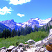 Looking Up Cascade Canyon - Grand Teton National Park