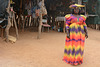 Namibia, Herero Crafts Master in Traditional Handmade Dress