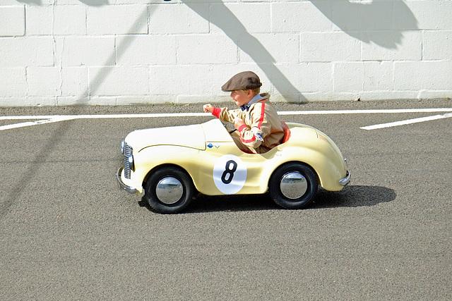 Goodwood Revival Sept 2015 Pedal Car Race 9 XPro1