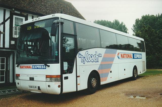 Arriva Northumbria V141 EJR at Whittlesford - 4 Aug 2000