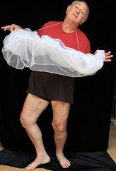 Mon élégance en ballerine va faire baver d'envie Leelou , c'est certain !