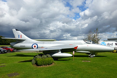 Hunter XE665 at Cotswold Airport (5) - 14 September 2017