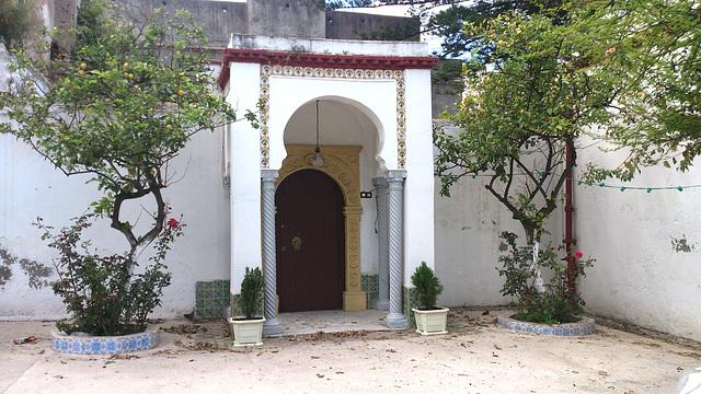 Porte d'entrée de villa Mauresque