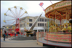 Armada Way fairground