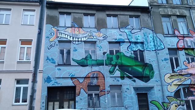 beautifying eastern Germany buildings
