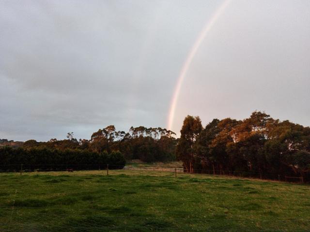 rainbow over the Smiths!