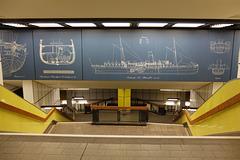 """Station Jungfernstieg der Hamburger Hochbahn Eingang """"Alstertor"""" (+ 3 PiPs)"""