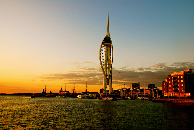 Spinnaker Tower and Portsmouth Harbour