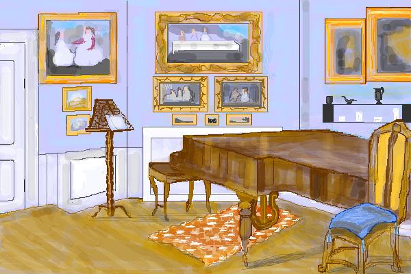 Das Musikzimmer von Fanny Hensel