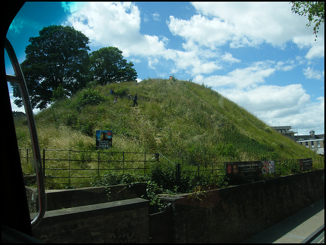 passing castle mound