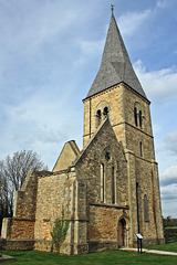 Remains of St. Peter's  church ~ Aubourn ~ Lincolnshire
