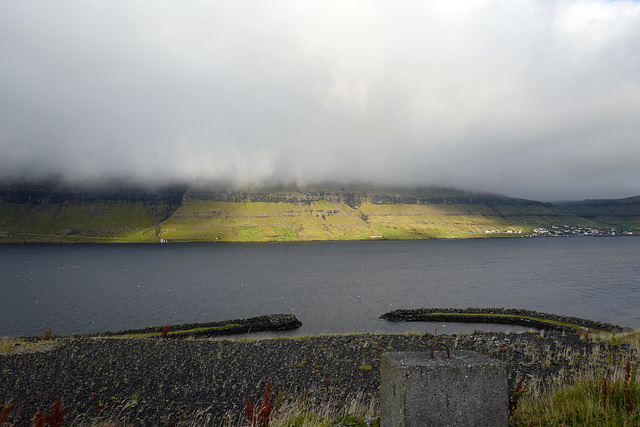 Faroe Islands, Ljósá, view from my room