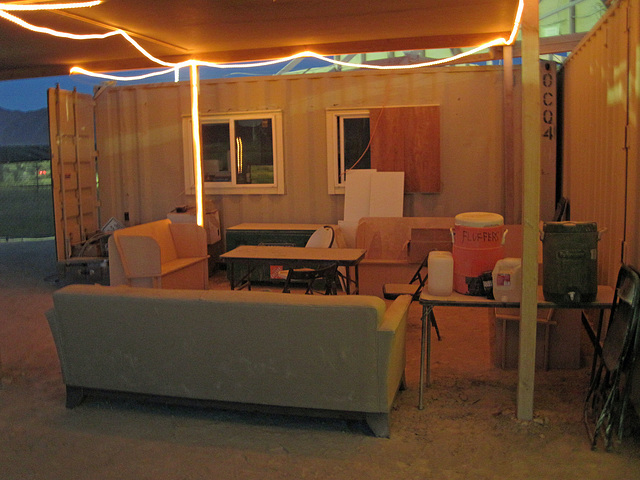 The Luxurious Volunteers Lounge at Will Call (7010)