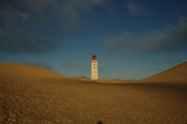 morning lighthouse