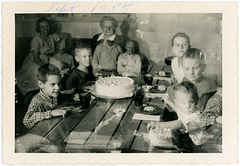 Haunted Birthday Party, Sept. 1955