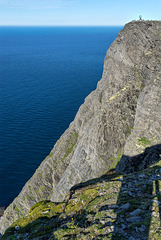 Nordkapp so high - 71° 10′ 21″ North