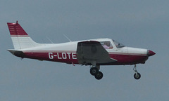 G-LOTE approaching Solent Airport - 12 June 2018