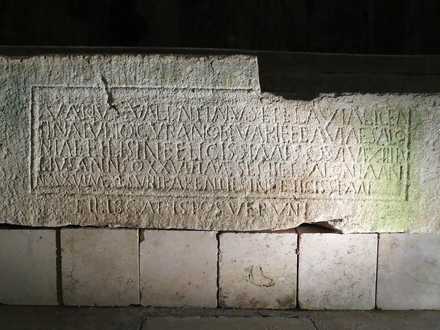 Sous-sols de Split : CIL III, 2534 (p. 1510)