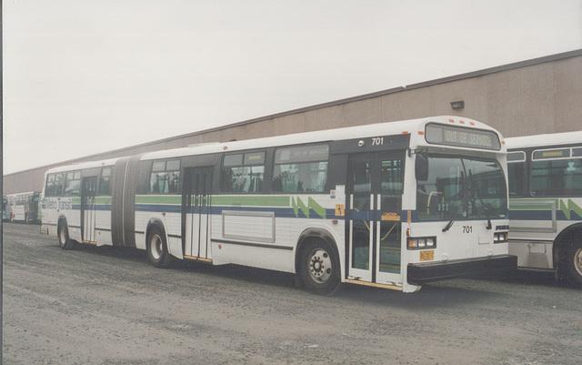 Metro Transit (Halifax, NS) 701 - 9 Sept 1992 (175-23)