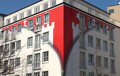 Red and White: Unzip  Hamburg