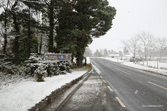 Culloden in snow