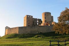 Château médiéval de Montrond-les-Bains (département de la Loire)
