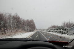 Winter on the Culloden road