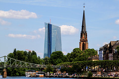 Spring in the City - Frankfurt: New and Old