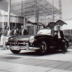 .. a Mercedes Benz