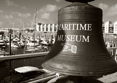 The Maritime Museum Bell - St Helier