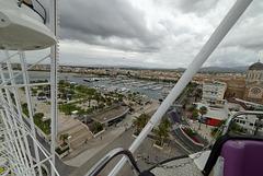 SAINT-RAPHAEL: Image prise depuis la grande roue.26