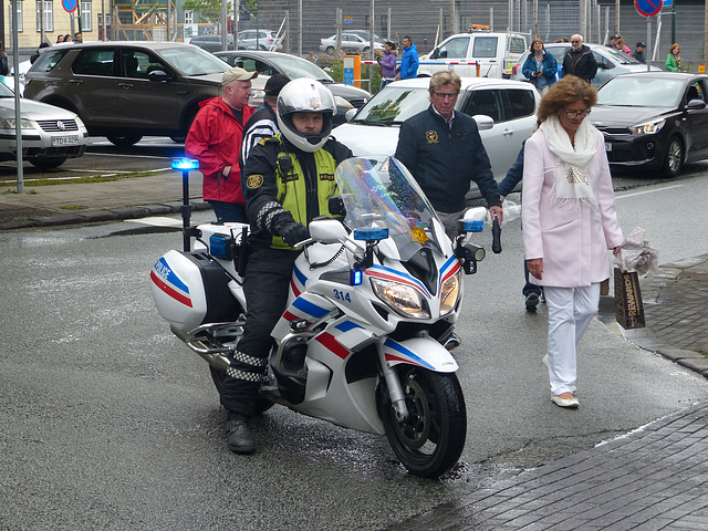 Icelandic Police Motorbikes (1) - 17 June 2017