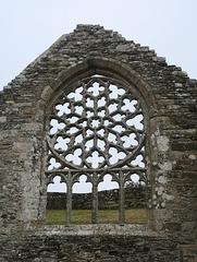 Rosace de la Chapelle de Languidou, Plovan (Finistère, France)