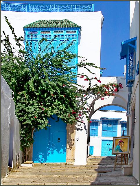 Tunisi : Sidi Bu Said 7