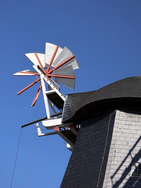 Kleines Windmühlenrad