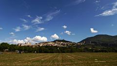 Der Himmel über Assisi