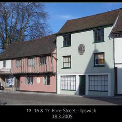 13 - 17 Fore Street Ipswich 18 3 2005