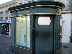 Automatic public WC.