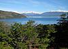 Lago General Carrera und der Monte San Valentin