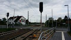 Dampflok 18201 Durchfahrt Rastow