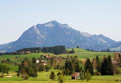 "Der Berg ""Grünten"" in den Allgäuer Alpen"
