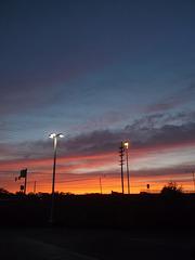 Mentor amongst sky colours