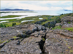 La faglia continentale dell'Islanda - ( 556)