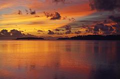Addu Atoll sunset, Maldives