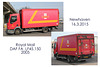 Royal Mail DAF box van Newhaven 16 3 2015