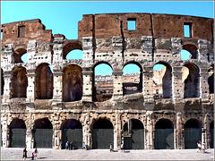 Roma : Colosseo da restaurare - 2011
