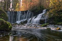 Geratser Wasserfall im Herbst