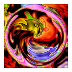 The Psychedelic Rooster ...