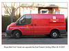Royal Mail Ford Transit Van East Dulwich SO 29 10 2007